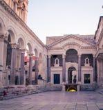 Facade of a Church. The facade of a Church in Split Croatia Royalty Free Stock Images