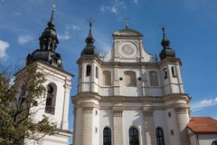 Church of St. Michael in Vilnius, Litnuania royalty free stock photography