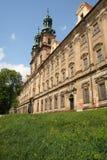 Facade of the cistercian monastery Royalty Free Stock Photography