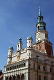 Facade of City Hall in Poznan Royalty Free Stock Image