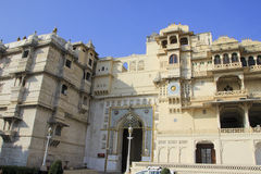 Facade of City Palace, Udaipur Stock Photo
