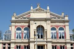 Facade of the City Theater Royalty Free Stock Photos