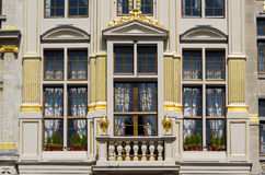 Facade of classic building Stock Images