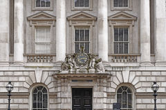 Facade of classic building Stock Photography