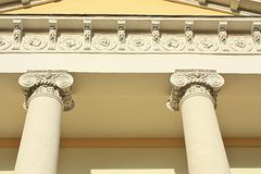 Facade in classical style Stock Image