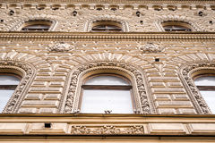 Facade close-up Royalty Free Stock Images