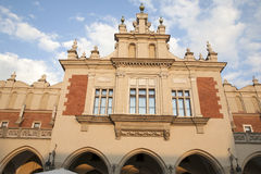 Facade of Cloth Hall; Krakow Royalty Free Stock Image