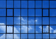 Facade Cloud Reflection Stock Photos