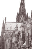 Facade of Cologne Cathedral Stock Image