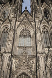 Facade of Cologne Cathedral Stock Images