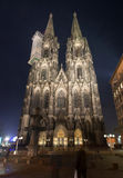 Facade of Cologne Cathedral Stock Photos