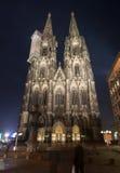 Facade of Cologne Cathedral Stock Photos
