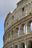 Colosseum, Rome. Facade of the Colosseum or Flavian Amphitheatre, Rome in Portrait Mode royalty free stock images