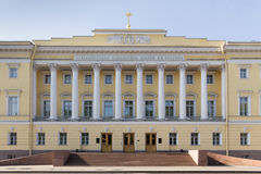 Facade of the constitutional court in St. Petersburg, Russia Royalty Free Stock Photography