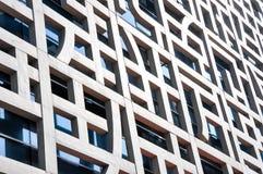 Facade of the contemporary building Stock Photo