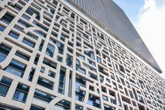 Facade of the contemporary building Royalty Free Stock Photo