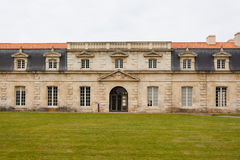 Facade of Corderie Royale in Rochefort Stock Images