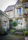 Facade of a Cotswold Cottage Stock Photos