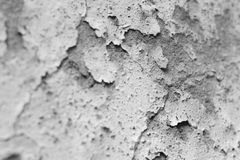 The facade cracked wall,black and white Stock Photos