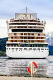 The facade of cruise liner, The North Sea Stock Photos
