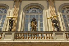 Facade of Dali Museum, Figueres, Spain Royalty Free Stock Images