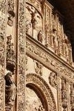 The facade of de San Esteban convent cathedral, Salamanca, Spain Stock Photography