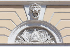 Facade decoration Royalty Free Stock Images