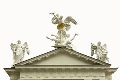 Roof decoration Royalty Free Stock Image
