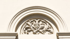 Palace facade decoration Stock Photography