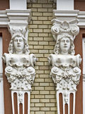 Facade decoration Royalty Free Stock Photo