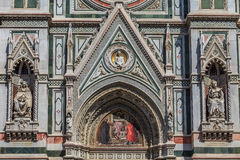 Duomo di Firenze detail Stock Images