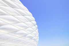 Facade detail Football Allianz Arena. Munich Stock Photo