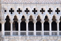 Free Facade Detail Of Doge`s Palace On Piazza San Marco, Venice Stock Image - 115051511