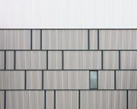 Facade detail of a public building Stock Image