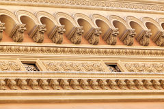 Facade details Royalty Free Stock Photography