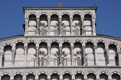 Facade Dome Duomo di Lucca Stock Images