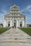 Facade of the dome, pisa, tuscany, Italy, europe Royalty Free Stock Photo