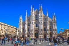 Facade Duomo cathedral Stock Photo