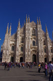 Facade of 'Duomo di Milano' Lombardy - Italy Stock Photo