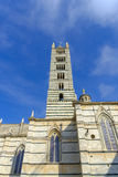 Facade of the Duomo, Siena, Tuscany, Italy Royalty Free Stock Photo