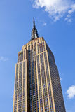 Facade of Empire State Building Stock Image