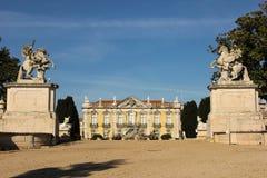 Facade &  entrance.National Palace.Queluz.Portugal Royalty Free Stock Photo