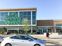 Facade entrance to Whole Foods Market store in Irving, Texas, US Stock Images