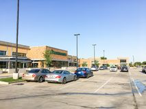 Facade entrance to Whole Foods Market store in Irving, Texas, US Stock Photos