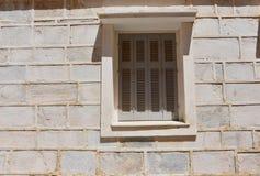 Facade in Ermoupolis Syros, Greece Stock Photography