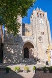Facade of the Evora Cathedral Royalty Free Stock Photos