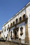 Facade of ex Jesuit college - Sicily Royalty Free Stock Images