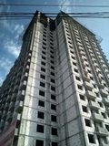 facade för byggnadskonstruktion under fotografering för bildbyråer