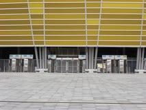 Facade för PGE-ArenaGdansk stadion Royaltyfri Fotografi