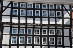 Facade of Fachwerkhaus in Germany Stock Photography